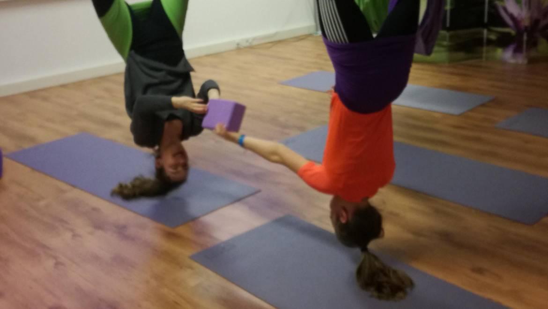 Aerial Yoga tieners