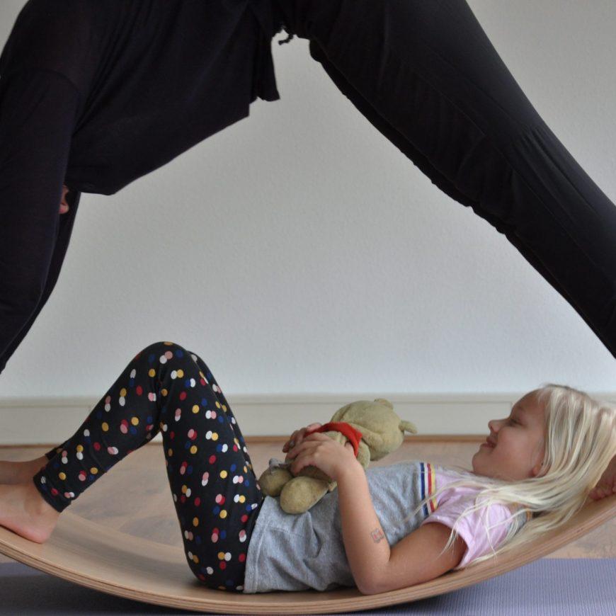 Ouder-kind workshop Wobbelyoga