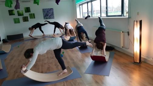 Workshop Wobbelyoga voor volwassenen